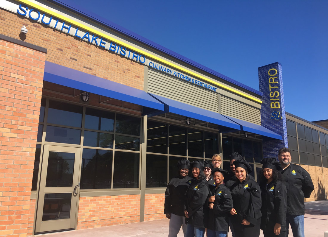 South Lake Schools - New High School Bistro - News & Blog - PARTNERS of Architecture - SLS_NewBistro