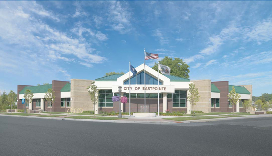 Eastpointe City Hall - Projects completed by PARTNERS in Architecture - eastpoint3