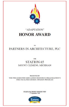 Honor Award Received - News & Blog - PARTNERS of Architecture - honor-award