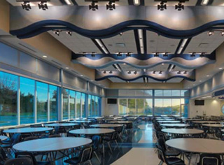 Lakeview High School - Projects by PARTNERS in Architecture - lake3