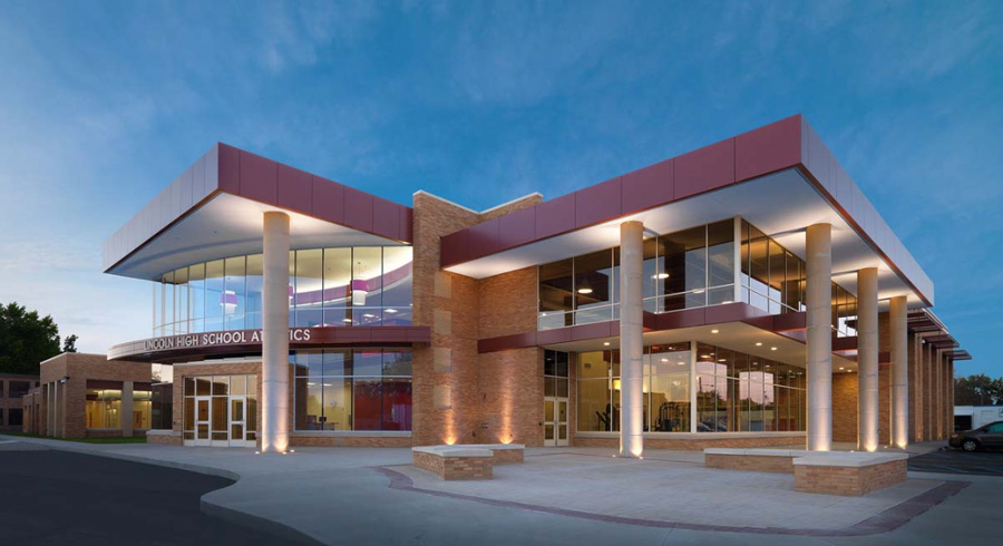 Lincoln High School - Projects by PARTNERS in Architecture - lh8