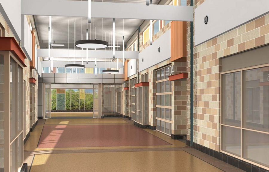 Lincoln High School - Projects by PARTNERS in Architecture - lh9