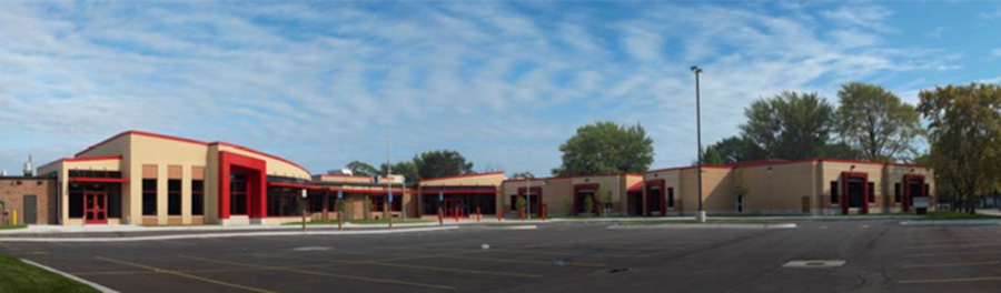 Lincoln Elementary School - Projects by PARTNERS in Architecture - lincoln4